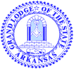 Grand Lodge of Arkansas Logo